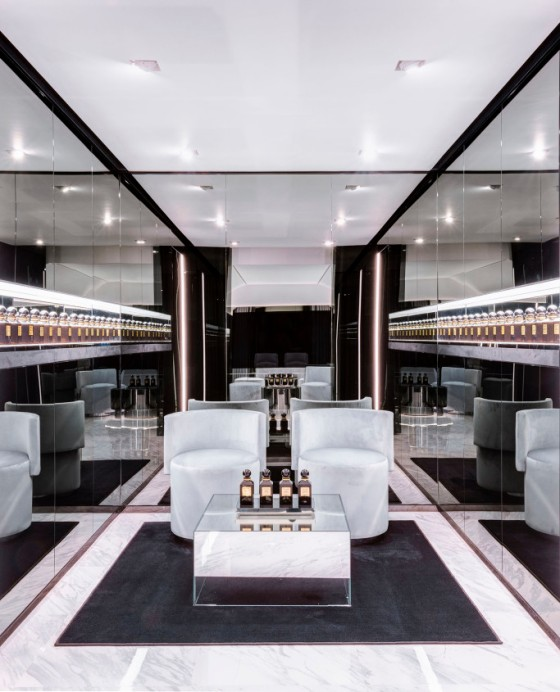 Os perfumes Tom Ford têm destaque na primeira loja de beleza da marca inaugurada em Londres